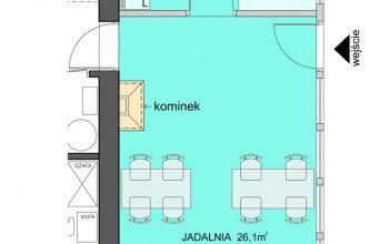 Kuchnia i jadalnia w Zarembówce – najlepsze pokoje na wakacje w Jastarni