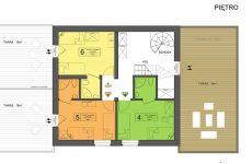 Piętro w Zarembówce – pokoje z tarasami w Jastarni